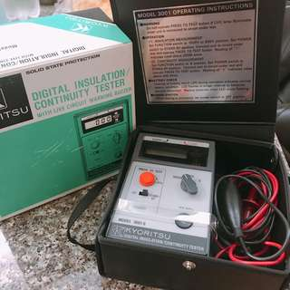 電力測試儀器KYORITSU