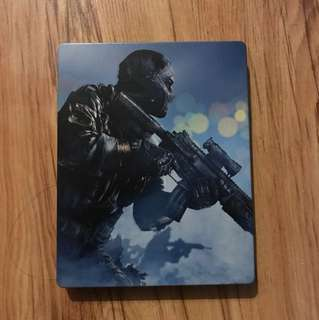 Call of duty Ghosts. (steel casing edition)