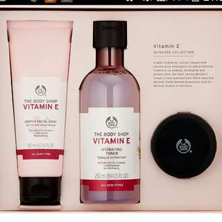 Body Shop skin.care vitamin E & skin defence