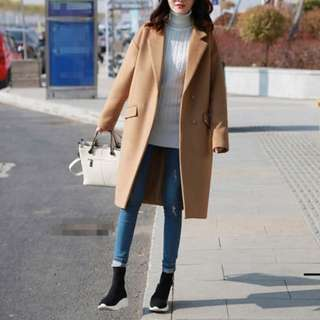 BN High Quality Winter Beige Trench Coat