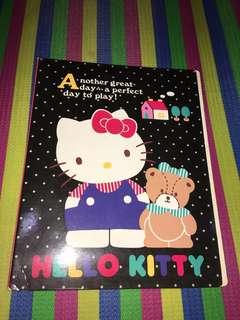 Hello kitty binder