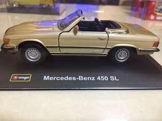 Mercedes Benz 450 SL miniature car model