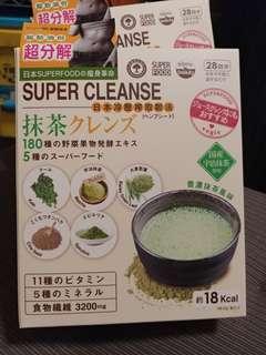 VEGIE  日本 Superfood 健康代餐 Vegie  Vegie180 超級抹茶果昔 168g