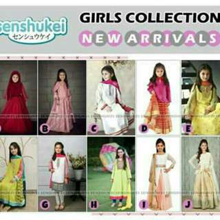 Sari india anak import sz 2-13th