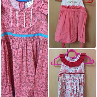 3 pcs of kiko dress
