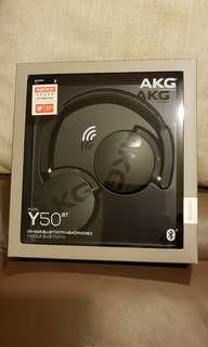 On ear Bluetooth headphones AKG Y50BT