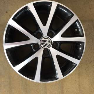 "16"" 5x112 vw original used rim  $60pc"