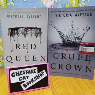 Red Queen and Cruel Crown