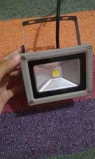 Lampu sorot led 10watt