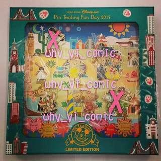 2017 香港迪士尼 Pin trading fun day Duffy Shelliemay   (迪士尼 HKDisney 迪士尼小熊 duffy shelliemay 迪士尼襟章 迪士尼徽章 pintradingfunday Pin)