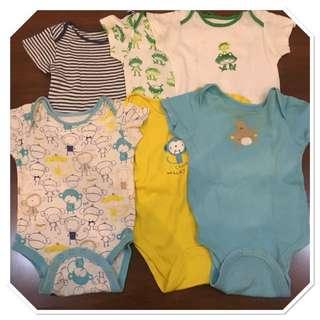 Mothercare body suit 6 pcs