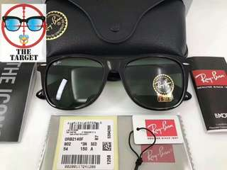 ray ban wayfarer rb2140 901 54mm size Large lenses polarized $910