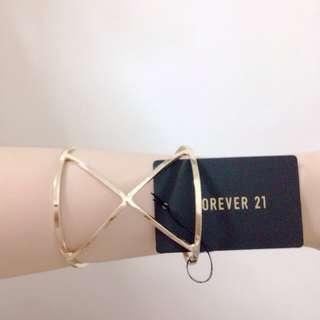 F21 Gold Bracelet