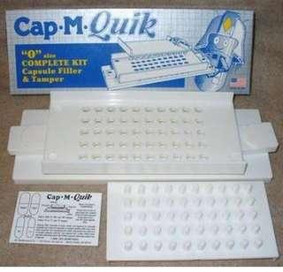 Cap-M-Quik Capsule Filler w/ Tamper