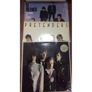 Vg+ The pretenders record vinyl clearance rock pop