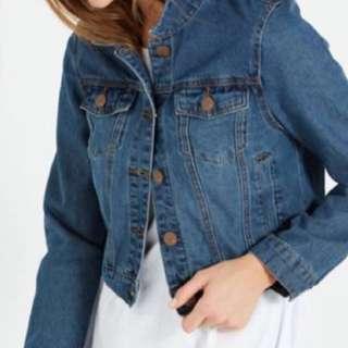 Dark Denim Jacket/Outerwear