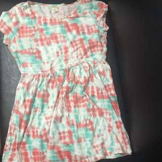 Forever 21 Tie Dye Dress