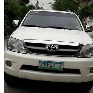 2007 Toyota Fortuner G AT/Gas