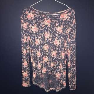 floral long sleevee
