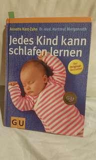 """Baby Buch Bestseller """"Jedes Kind kann schlafen lernen"""" - like new!"""