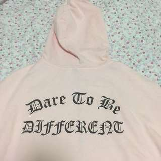 [BNWOT] H&M 'Dare To Be Different' Hoodie