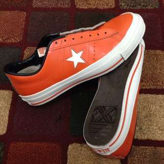 Converse One Star J- ORANGE Leather