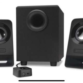 Logitech Speaker with bass! (brand new)
