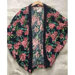 Cotton On Floral Kimono Top