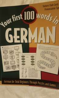 Your first 100 words in German - NEW!!