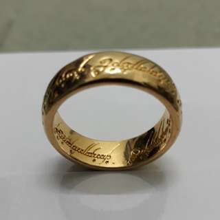Cincin ' THE LORD OF THE RING'