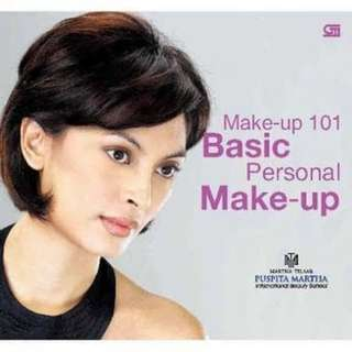 (TERMURAH) BUKU MAKE UP 101 BASIC PERSONAL MAKEUP DANDAN MARTHA TILAAR