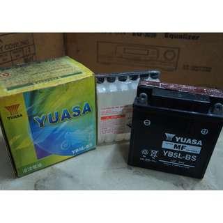 Yuasa Motor Battery, YB5L-BS, 12V 5Ah