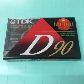 TDK Cassette D90