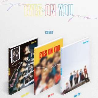 EMS PO W/POSTER GOT7 EYES ON YOU ALBUM