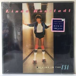Linda Ronstadt ‎– Living In The USA (1978 USA Original - SEALED - MINT)