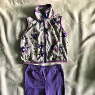Carter's Top and Trousers