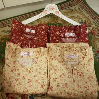 Shabby Chic Baju Kurung Pesak for Little Princess