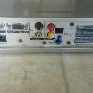 Panasonic 投影機+100吋拉幕