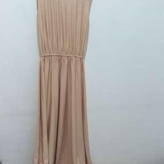 Sleeveless dress + outer (harga nett)