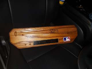 Baseball bat plaque