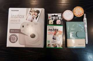 Instax mini 9 package shibuya