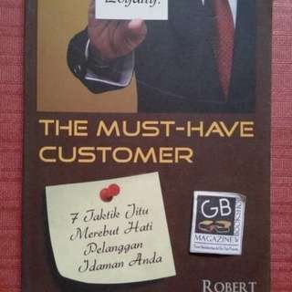 SALE BUKU THE MUST HAVE CUSTOMER ROBERT GORDMAN