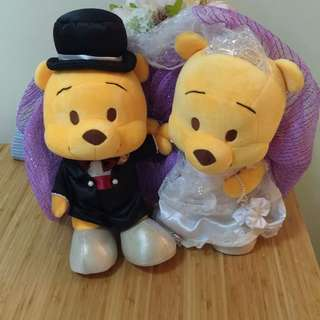 Winnie the Pooh婚車公仔