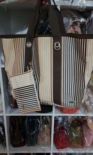 20% off! Authentic Lacoste Tote Bag L
