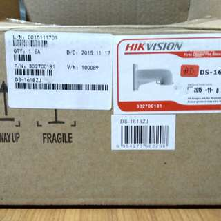 CCTV Hickvision dome camera bracket  model DS-1618ZJ