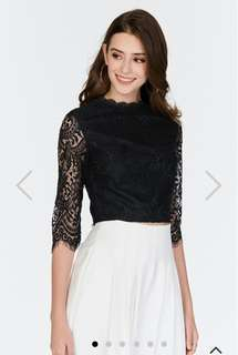 Ameline Lace Top (White)