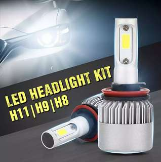 S2 LED HEADLIGHT H11 H9 H8