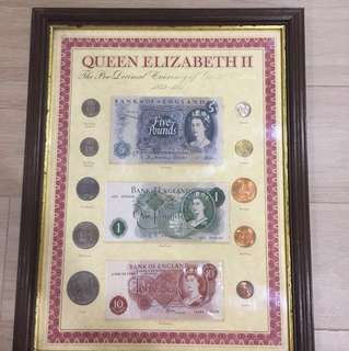 Vintage Currency of Great Britain 1953-1971
