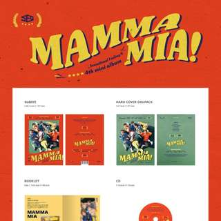 SF9 4TH MINI ALBUM - MAMMA MIA!