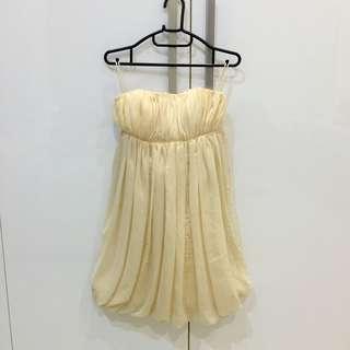 Mini Party Dress Ivory